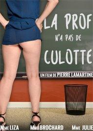 La Prof N'a Pas De Culotte Porn Video