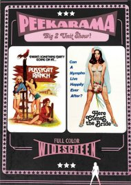 Peekarama: Pussycat Ranch / Here Comes the Bride porn DVD movie from Vinegar Syndrome.