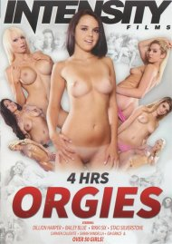 4 Hrs Orgies porn DVD from Intensity Films.