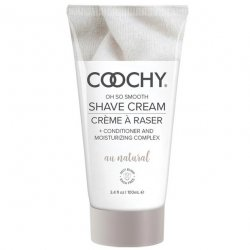 Coochy Rash Free Shave Cream - Au Natural - 3.4oz