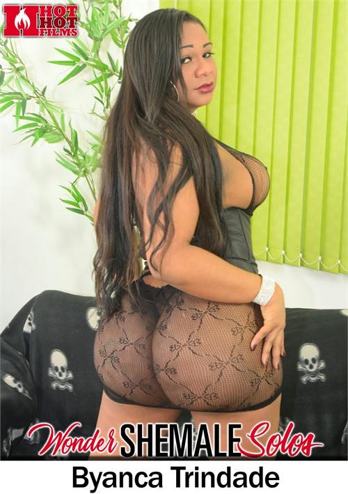 Massive Bubble Butt Latina Transsexual Masturbates In Her Sexy Lingerie