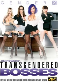 Transgendered Bosses porn DVD from Gender X