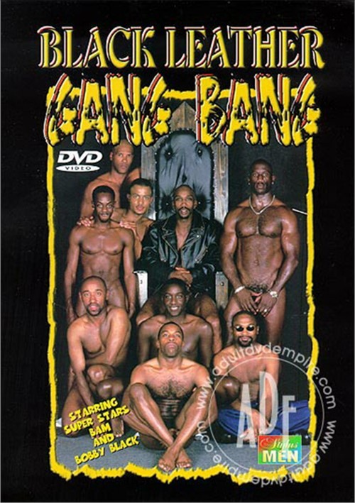 Black Leather Gang Bang 1 Boxcover