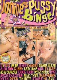 Janine's Pussy Binge Porn Video