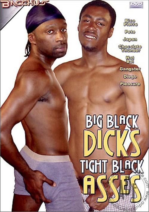Big Black Dicks Tight Black Asses Boxcover