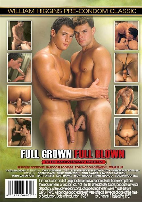 Full Grown Full Blown Cover Back