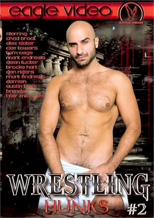 Wrestling Hunks 2 Cover Front