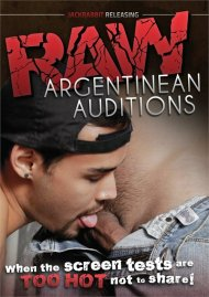 Raw Argentinean Auditions gay porn DVD from Jackrabbit Releasing.