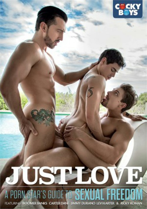 Just Love: A Porn Star's Guide to Sexual Freedom Boxcover