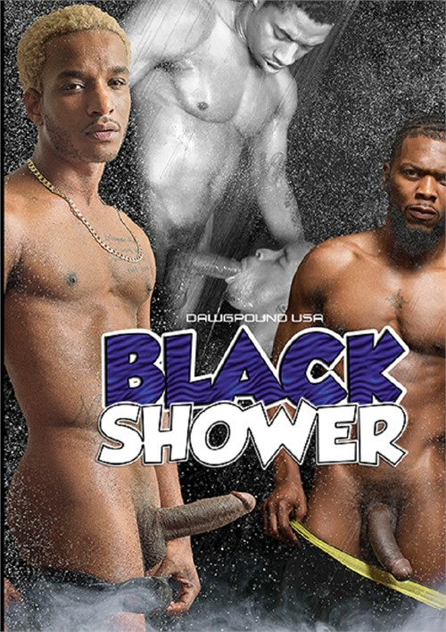 Black Shower Cover Front