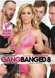 Gangbanged 8 porn DVD from Elegant Angel.