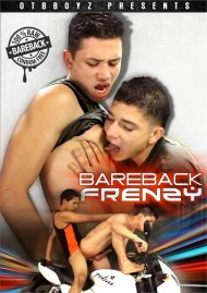 Bareback Frenzy gay porn streaming video from Naked Beauty.