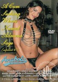 Cum Sucking Whore Named Adriana Sage, A image
