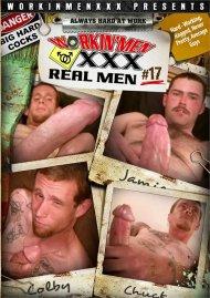 Real Men 17 gay porn DVD from Workin' Men XXX