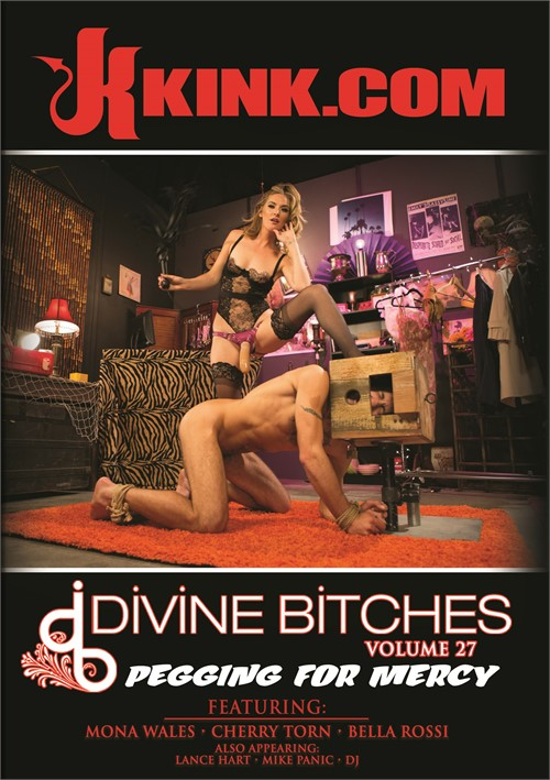 Mona Wales stars in Divine Bitches 27: Pegging For Mercy DVD porn movie.