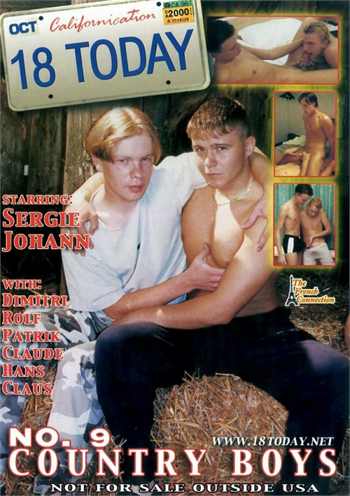 18 Today No. 9: Country Boys Boxcover