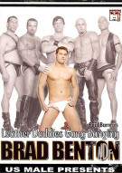 Leather Daddies Gang Banging Brad Benton Gay Porn Movie