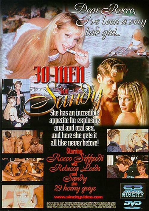 Back cover of 30 Men For Sandy