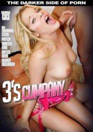 3's Cumpany Porn Video