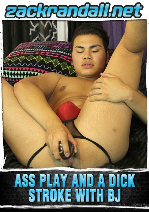 Ass Play & Dick Stroke BJ Boxcover