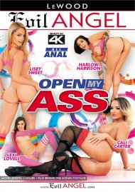 Open My Ass DVD porn movie from Evil Angel.