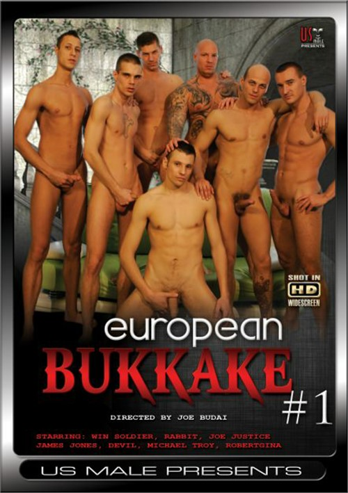 European Bukkake #1 Boxcover