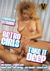 Retro Girls Take It Deep Porn Video