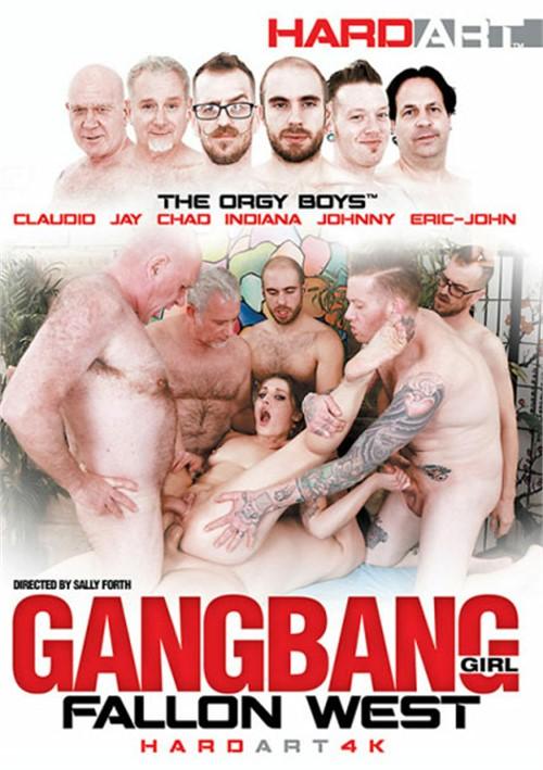 Gangbang Girl: Fallon West Big Cocks Double Penetration Brunettes