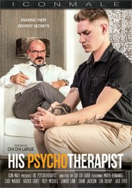 His Psychotherapist gay porn DVD from Icon Male