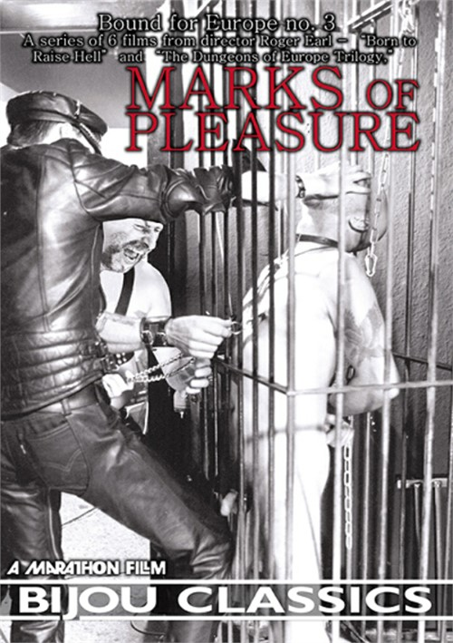Bound for Europe #3: Marks of Pleasure Boxcover