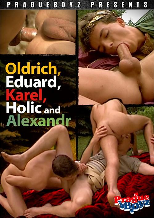 Oldrich, Eduard, Karel, Holic & Alexandr Boxcover