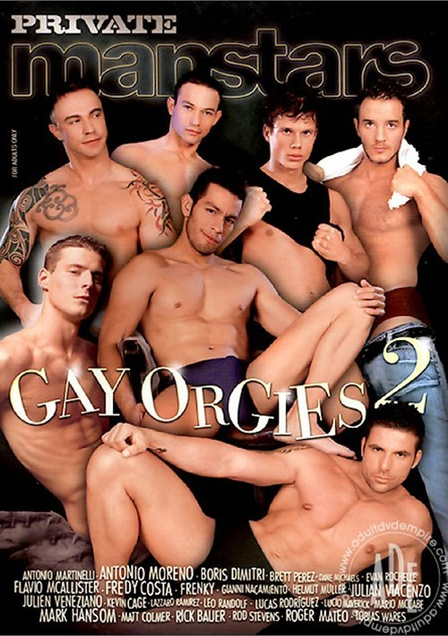 Private Manstars 9 Gay Orgies 2 Cover Front