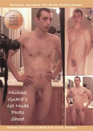 Michael Guard's 1st Nude Photo Shoot Porn Video