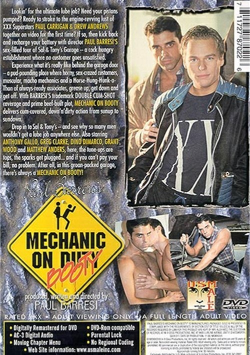 Mechanic on Booty Cover Back