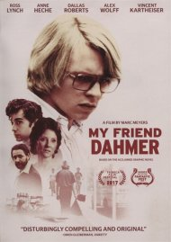 My Friend Dahmer gay cinema DVD from Sony Pictures.