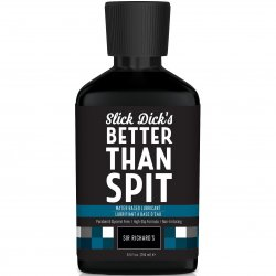 Sir Richard's Slick Dick's Better Than Spit Water Based Lube - 8.5oz Sex Toy