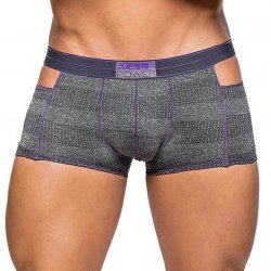 Male Power: Heather Haze Cutout Shorts - Medium Sex Toy