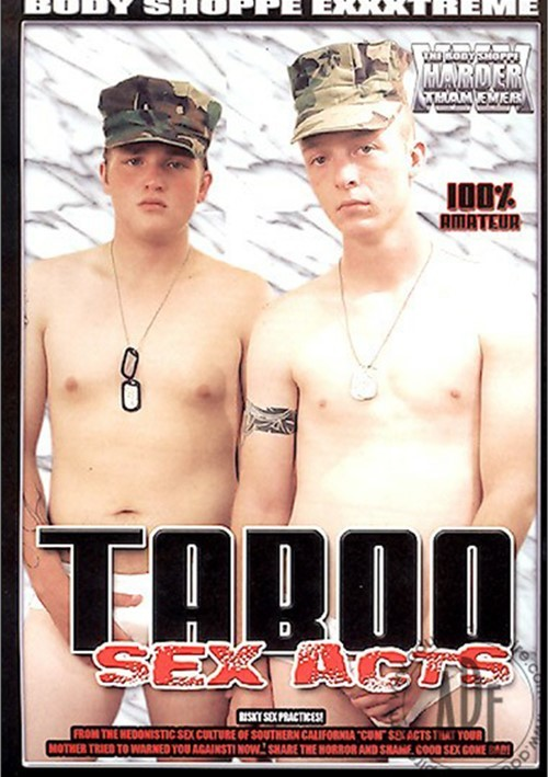 Taboo Sex Acts Boxcover