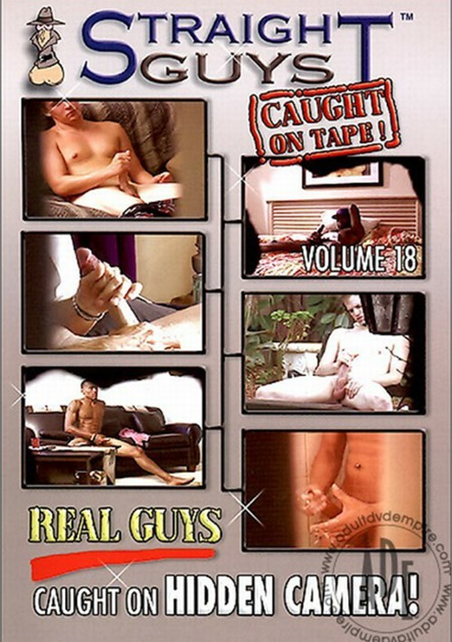 Straight Guys Caught On Tape 18 Boxcover