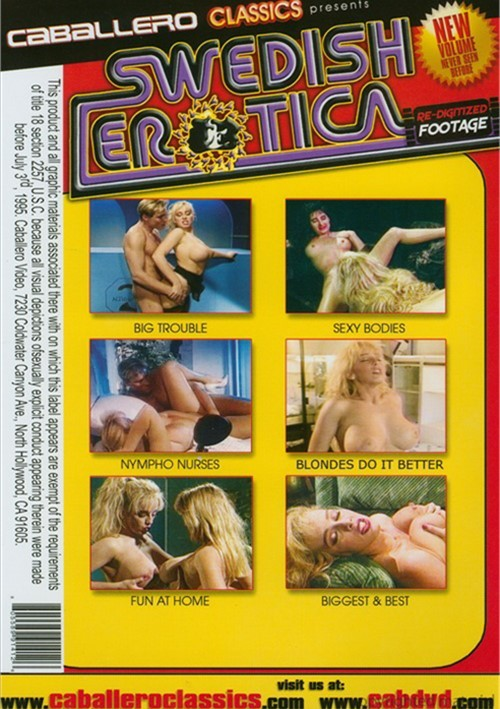 Was Swedish erotica video review theme, will