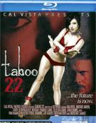 Taboo 22 Blu-ray