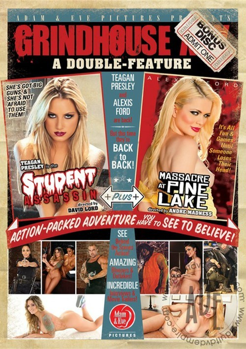Grindhouse XXX: A Double Feature Boxcover