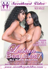 Lesbian Beauties Vol. 7: All Black Beauties image
