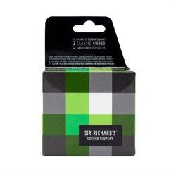 Sir Richard's Condoms - Classic Ribbed - 3 pk