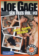 Joe Gage Sex Files 3: Frat Party Kegger  Gay Porn Movie