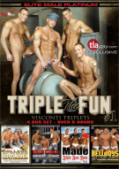 Triple the Fun 1: Visconti Triplets  Gay Porn Movie