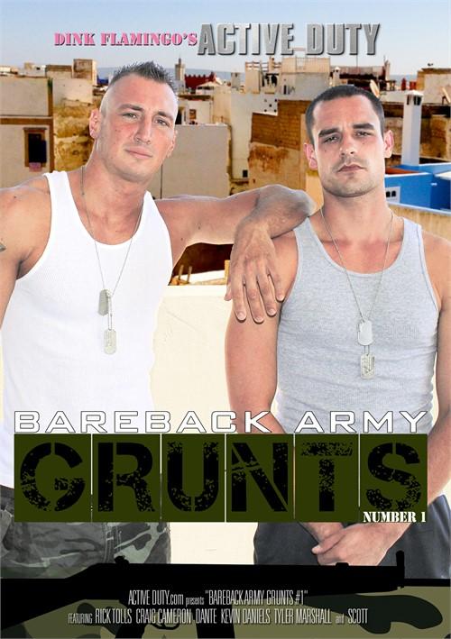 Bareback Army Grunts Boxcover