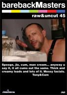 Bareback Masters: Raw & Uncut 45 Boxcover