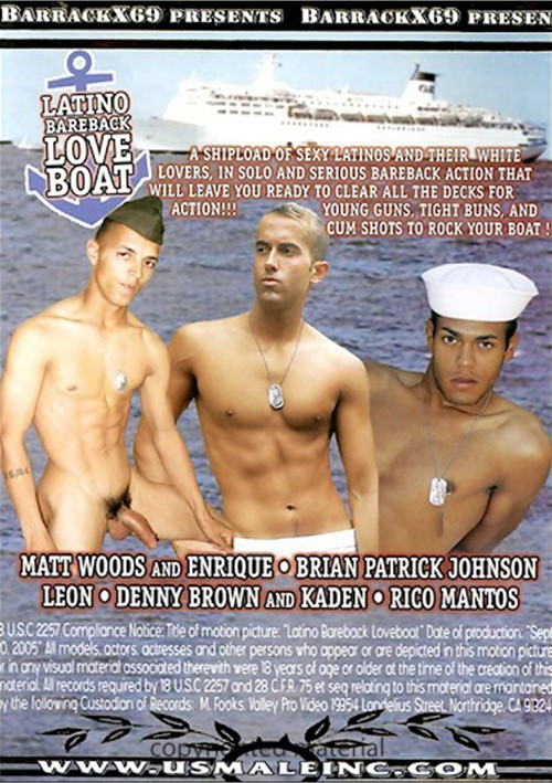 Bareback boat cumming by hot latino gays