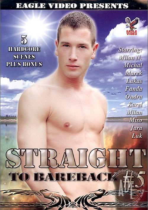 Straight to Bareback #5 Boxcover
